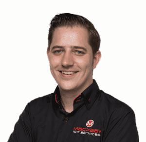 Mackaay ICT Services, afdeling Support, Arjan Haarman